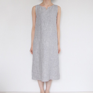 BESPOKE LEAH SLEEVELESS NIGHT SHIRT HALF LENGTH
