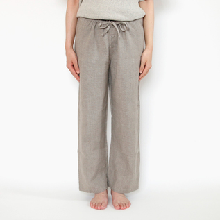 BESPOKE OISE LINEN PANTS THREE-QUARTER LENGTH