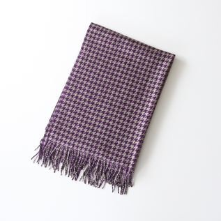 Classic Houndstooth Stole