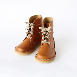 Lace-up short boots Brown
