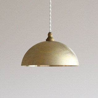JAPAN DELIVERY ONLY Casting surface pendant lamp hemisphere