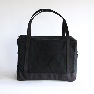 Daily boston bag black