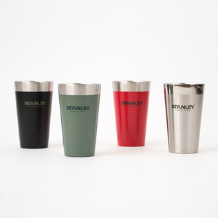 A FOUR-PIECE SET OF STACKABLE VACUUM PINT