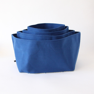 KURASHIKI CANVAS CONTAINER INDIGO
