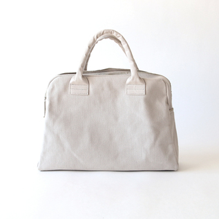 KURASHIKI CANVAS BRIEFCASE GRAY