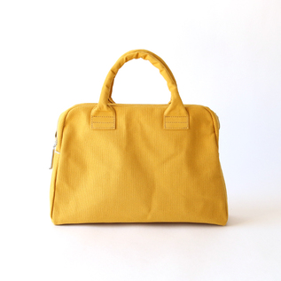 KURASHIKI CANVAS BRIEFCASE MUSTARD