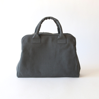 KURASHIKI CANVAS BRIEFCASE INK BLACK