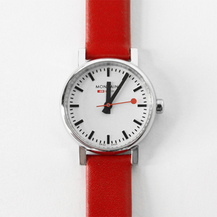 Women Watch Evolution White Red