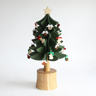 CHRISTMAS TREE WITH MUSIC BOX