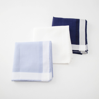 SEA ISLAND COTTON HANDKERCHIEF