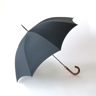 Men Long Umbrella Black