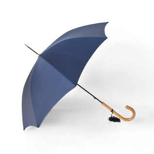Women Long Umbrella Malacca FrenchNavy