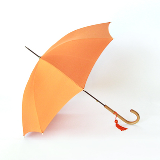 Women Long Umbrella Malacca Orange