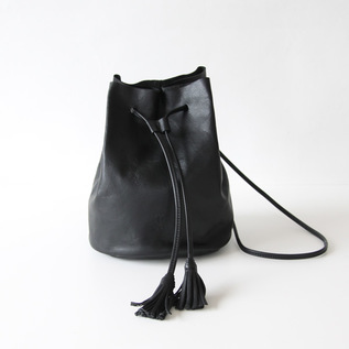 Drawstring Shoulder Black