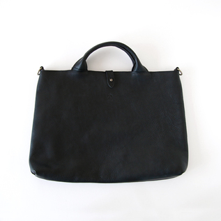 2WAY tote bag BLACK