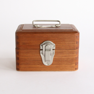 Small wooden box with handle
