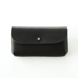 GLOVE LEATHER  FLAP POUCH/L