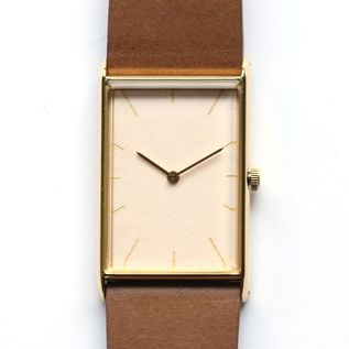 Watch Konairo sango gold belt brown