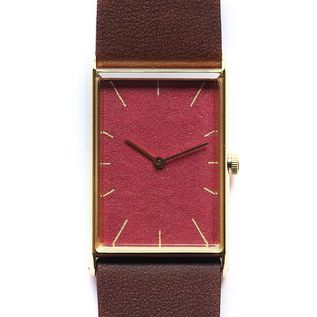 Watch Konairo shinsya gold belt darkbrown