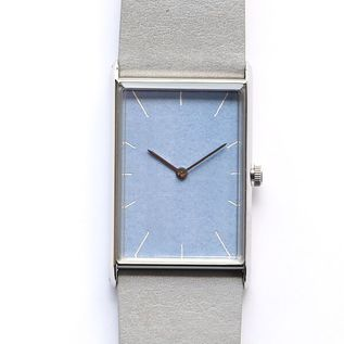 Watch Konairo ruri silver belt lightgrey
