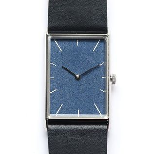 Watch Konairo yakigunjyo silver belt black