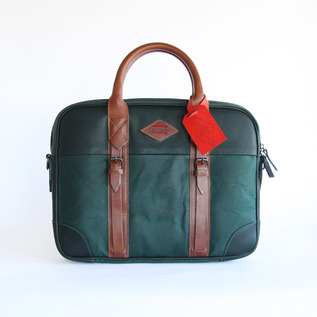 BUSINESS BAG PORTE DOCUMENT Vert Green