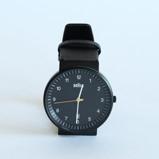 Watch BNH0032 Leather BK