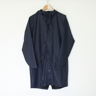 Long Jacket Blue raincoat