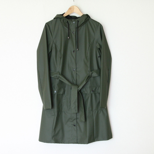 Curve Jacket Green raincoat