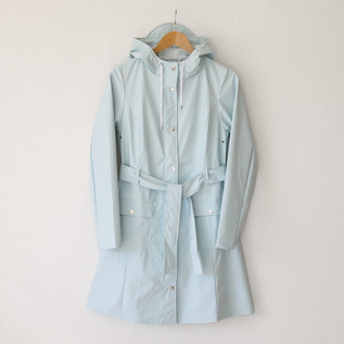 CURVE JACKET WAN BLUE RAINCOAT
