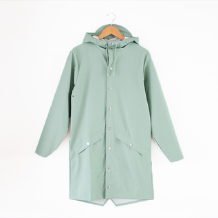 LONG JACKET DUSTY MINT RAINCOAT