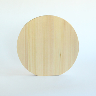 ROUND CYPRESS CUTTING BOARD M28
