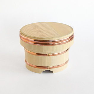 OHITSU JAPANESE RICE WOODEN CONTAINER