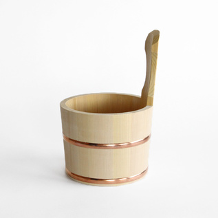 SAWARA CYPRESS BATHTUB BUCKET