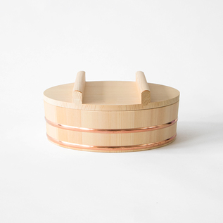WOODEN BOWL FOR SUSHI RICE