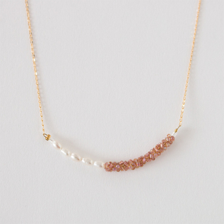 DRAGEE COMBINATION NECKLACE