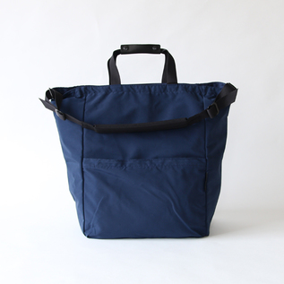 STAND UP 2WAY TOTE NAVY