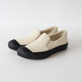 SHELLCAP SLIP-ON KINARI/BLACK