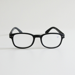 READING GLASSES B BLACK