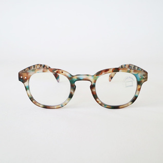 SCREEN READING GLASSES C-BLUE TORTOISE