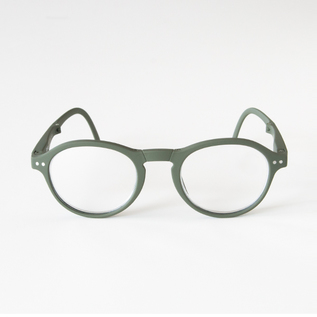 FOLDABLE READING GLASSES F KAHKI