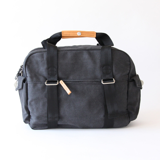 Bag Overnighter Washed Black