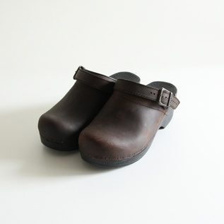 Clogs Ingrid Antique Brown Oiled