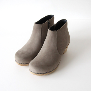 MARIA TAUPE MILLED NUBUCK BOOTS