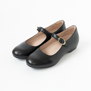 LINETTE STLAP SHOES BLACK