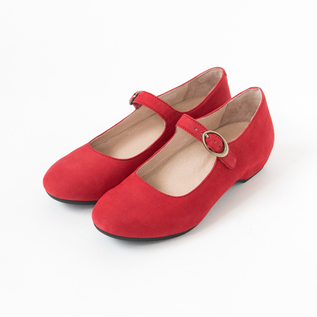 LINETTE STLAP SHOES RED
