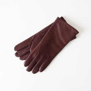 WOMEN LAMBSKIN GLOVES WINE