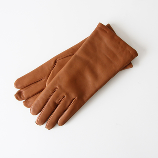 WOMEN LAMBSKIN GLOVES HAZELNUT