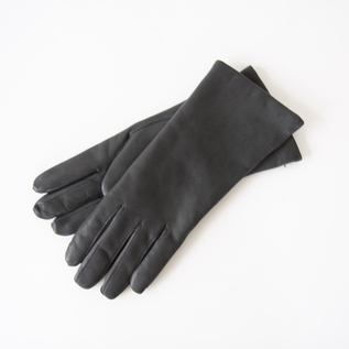 WOMEN LAMBSKIN GLOVES MID GREY