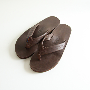 Men Leather Sandals Classic Mocha